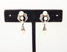 Antique 1920's F.P. Sterling Real Pearl by MindiLynJewelry on Etsy, $22.00