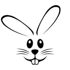 Clipart Bunny Face bunny face clipart - clipart kid - Clipart Bunny Face bunny face clipart – clipart kid You are in the right place about kids playgrou - Rabbit Clipart, Rabbit Vector, Easter Crafts, Holiday Crafts, Easter Drawings, Bunny Drawing, Bunny Face, Chalkboard Art, Embroidery Designs