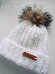 Joko, Knitted Hats, Knit Crochet, Crochet Patterns, Winter Hats, Sewing, Knitting, Crafts, Diy