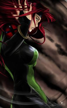 Jean Grey X-men: Evolution Huge fan of Miss Grey and had to do fan art of her. Hope you like Done in: manga Studio Ex (Pro) Jean Grey Hq Marvel, Marvel Comic Universe, Marvel Comics Art, Marvel Heroes, Mundo Marvel, Captain Marvel, Comic Book Characters, Marvel Characters, Comic Character