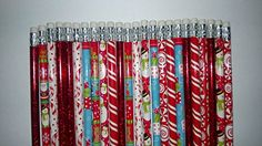24 Holiday Christmas Themed Pencils Stocking Stuffers ** You can find more details by visiting the image link.