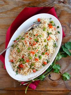 Vegetable Pulao (Vegetarian Fried Rice)