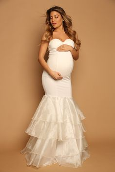 7482f17b26519 26 best Maternity Bridal Gowns images in 2019 | Maternity Fashion ...