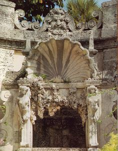 Images of Vizcaya Museum and Gardens, Miami, Florida. Photographer: Steven Brooke.