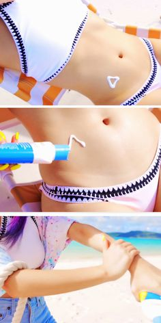 Get a Sun Tattoo with Sun Cream | Awesome Summer Life Hacks for Teens