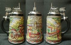 German Train Beer Stein (Limited ED)