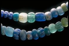 Viking era glass beads