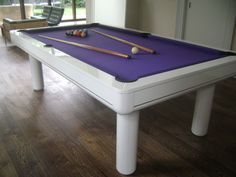 Purple Pool Table For the home Pinterest Pool tables