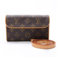 Louis Vuitton Pochette Florentine Monogram Other Brown Canvas M51855