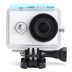 c3d7be6aae1b Waterproof Case for Xiaomi Yi Sports Camera Diving 40M Back Up Case Sports  Camera