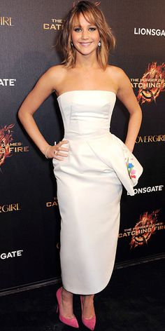 Look of the Day - May 20, 2013 - Jennifer Lawrence in Christian Dior from #InStyle