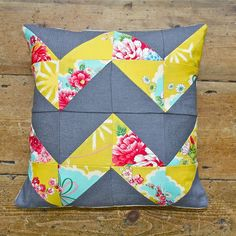 Patchwork Cushion Workshop | The Makery