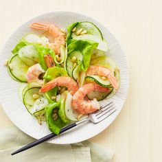 Shrimp and Green Apple Salad