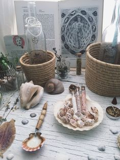 Autel Wiccan, Pagan Altar, Witchcraft, Water Witch, Sea Witch, Altar Cloth, Baby Witch, Witch Decor, Modern Witch