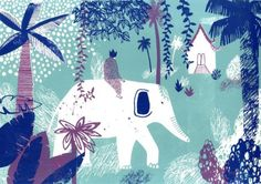 thewoodbetween:  Essi Kimpimäki, a Finnish freelance illustrator currently based in Glasgow.
