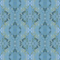 Shop Gulf Wave Reflections- Naples fabric by Margaret Juul at WeaveUp - custom fabric