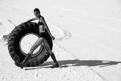 walk this way: liya kebede by chris colls for porter #12 winter escape 2015 | visual optimism; fashion editorials, shows, campaigns & more!