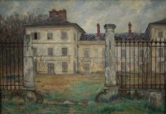 Abandoned , Chamant   -    Georges Emile Lebacq - 1925  French, 1876-1950  Oi on canvas, 65,5 x 92 cm