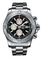 Show details for Breitling Super Avenger II Chronograph Black