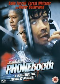 Phone Booth [2003] [DVD]: Amazon.co.uk: Colin Farrell, Kiefer Sutherland, Forest Whitaker, Radha Mitchell, Katie Holmes, Paula Jai Parker, Arian Ash, Tia Texada, John Enos III, Richard T. Jones, Keith Nobbs, Dell Yount, Matthew Libatique, Joel Schumacher, Mark Stevens, David Zucker, Eli Richbourg, Gil Netter, Ted Kurdyla, Larry Cohen: DVD & Blu-ray