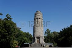 The Bismarck tower in Bochum, Germany