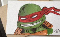 TMNT Raphael I sketched