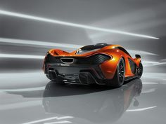 McLaren P1, I saw a 3/4 front view on Uncrate.com . but prefer this angle.