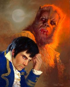 Monster Art: Oliver Reed and the Werewolf Classic Monster Movies, Classic Horror Movies, Classic Monsters, Cool Monsters, Horror Monsters, Famous Monsters, Horror Icons, Horror Art, Horror Comics