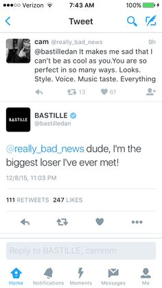 Dan Smith is too pure for this world. A gift to mankind. Bastille Funny, Bastille Quotes, I Need To Pee, Depressing Lyrics, Dan Smith, Boyfriend Goals, Bad News, My Happy Place, Music Bands