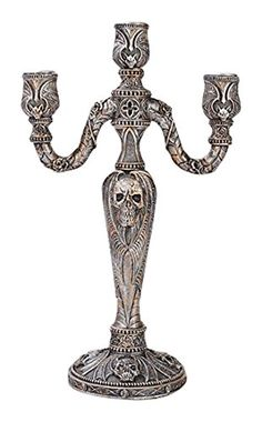 Pacific Giftware Cobra Skull Fantasy Candleabra Candleholder Sculpture in Faux Stone Finish Made of Polyresin -- See this great product.Note:It is affiliate link to Amazon.