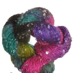 Artyarns Beaded Mohair and Sequins Yarn - '13 Holiday Collection - Mediterranean Cruise