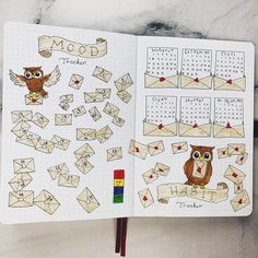Bullet Journal Tracker, Bullet Journal Hacks, Bullet Journal Notebook, Bullet Journal Themes, Bullet Journal Layout, Bullet Journal Inspiration, Harry Potter Journal, Theme Harry Potter, Estilo Harry Potter