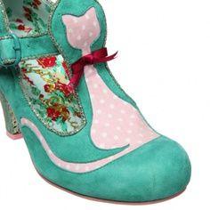 irregular choice cat heel