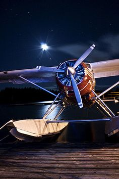 Floatplane by Night | da ZBailor
