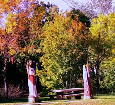 The Alameda Angels with their autumn backdrop caught the eye of Jack from Arlington
