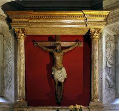 Crucifix - Cybo-Soderini Chapel - Santa Maria del Popolo - Rome 2015 - Cappella Cybo-Soderini (Santa Maria del Popolo)