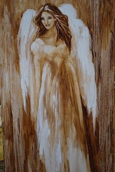 """Virginia has an """"angel"""" in her house who distracted her and was often a burden during the time when she was trying to write. Angels Among Us, Angels And Demons, I Believe In Angels, Angel Pictures, Angel Images, Angels In Heaven, Guardian Angels, Art Graphique, Angel Art"""