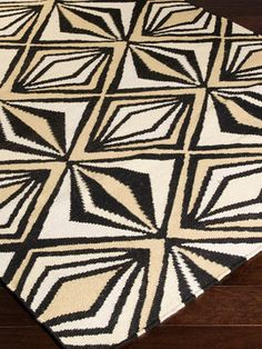 Voyages Handwoven Flatweave Rug from Midcentury-Inspired Home on Gilt