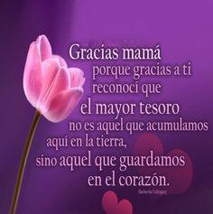 Gracias Madre Quotes imagen de amor y agradecimiento a la madre | postales e imágenes