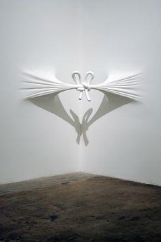 Daniel Arsham. Modern Artist. Sculpture. Art. White. Installations.