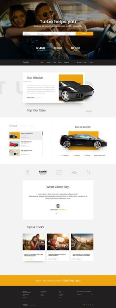 Automotive Website Designs #10