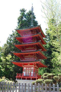 San Francisco Botanical Gardens, Japanese Tea Garden