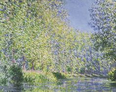 Bend in the Epte River near Giverny,1888, Claude Monet