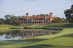 Clubhouse at TPC Sawgrass - Click on Photo to open TPC Sawgrass Website