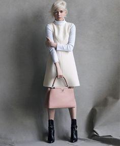 Michelle Williams zum dritten Mal in Louis Vuitton Kampagne   #Fashion Insider Magazin - Michelle #Williams ist nun schon eine Weile das Gesicht der jeweils aktuellen Taschenkollektion aus dem Hause Louis #Vuitton.