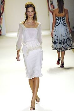 Temperley London Spring 2006 Ready-to-Wear Fashion Show - Tiiu Kuik