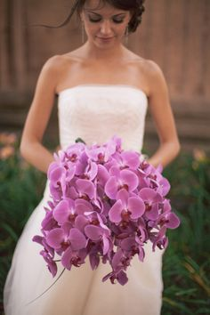 Lovely orchid bouquet