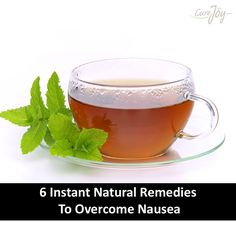 6 Instant Natural Remedies To Overcome Nausea ==>