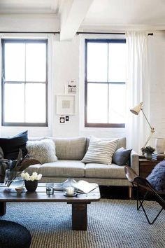 Stylist Fiona Gould tells us four styling tips that will help you make a dark colour scheme and dark stained furniture look fresh all year round throughout your home. Wall Colors, House Colors, Timber Furniture, Australian Homes, Spring Home, Diy Wall Art, Colorful Interiors, Decorating Your Home, Floating Shelves