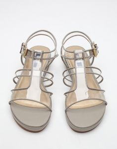 Today's So Shoe Me is the Heara Sandal by Senso, $190, available at Need Supply. Senso offers full transparency with this modern and multifunctional sandal.